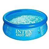 Intex Easy Set Aufstellpool, blau, Ø 244 x 76 cm
