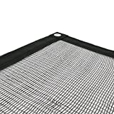 sodepm 05458Abdecknetz Pool Schwarz 5x 9cm