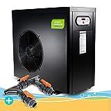 Wärmepumpe Smart Inverter 6,0 kW inklusive Bypass, Wassererwärmung, Poolheizung, Warmwasser, Wärmetauscher, Heizpumpe, Schwimmbecken, Pool