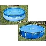 Intex Solar Cover Pool - Solarabdeckplane -  Ø 348 cm - Für Easy Set und Frame Pool