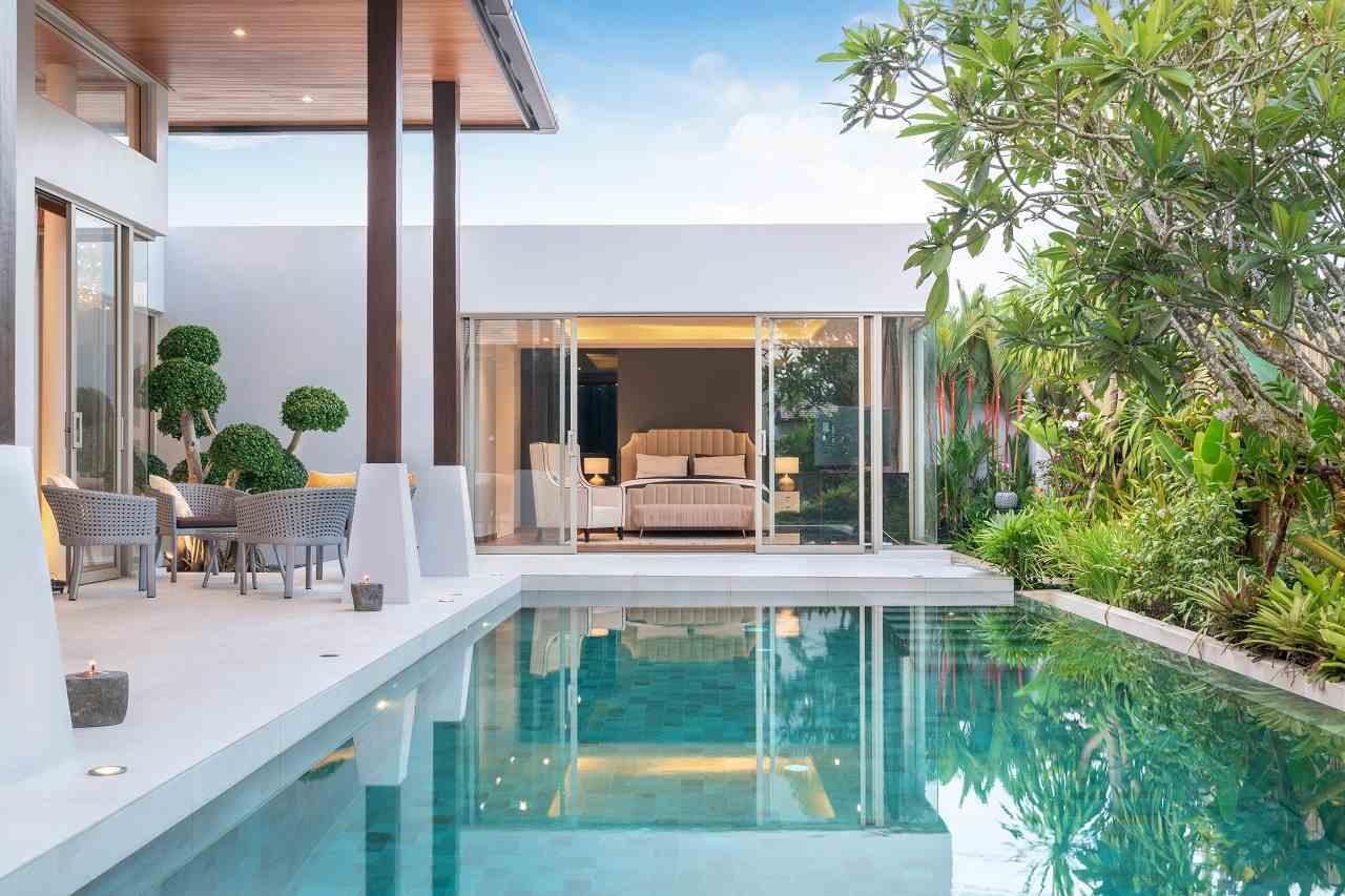 Moderne Poolhäuser